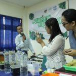 PELATIHAN HIDROPONIK BIOLOGY STUDY CLUB HMPS PBIO